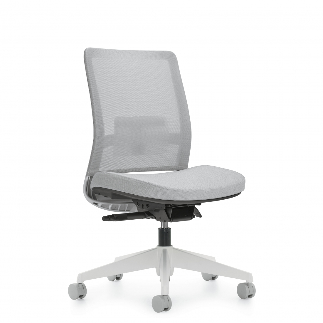 Global Factor Series Armless Mid Back Mesh Chair 5541na