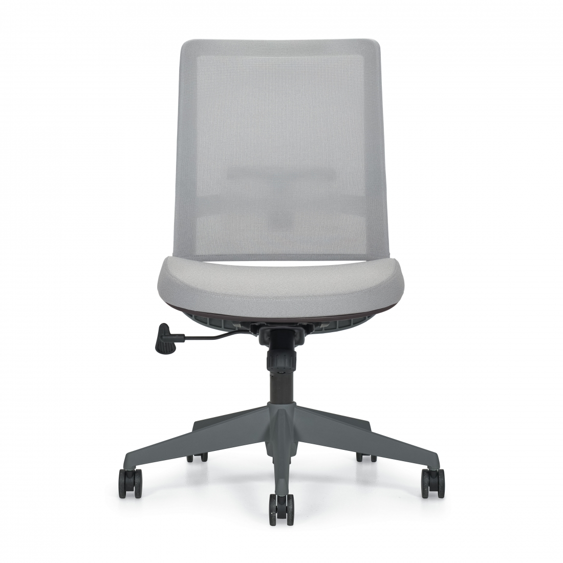5541na model global factor armless mesh chair