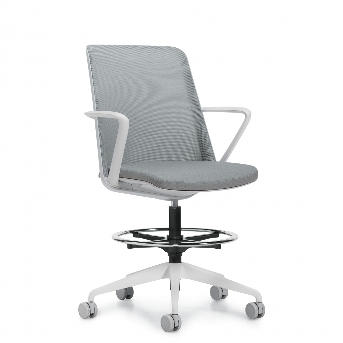 global prefer mesh back task stool