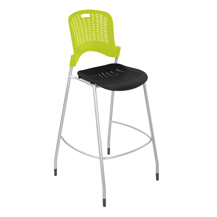safco sassy stackable bistro height chair without arms