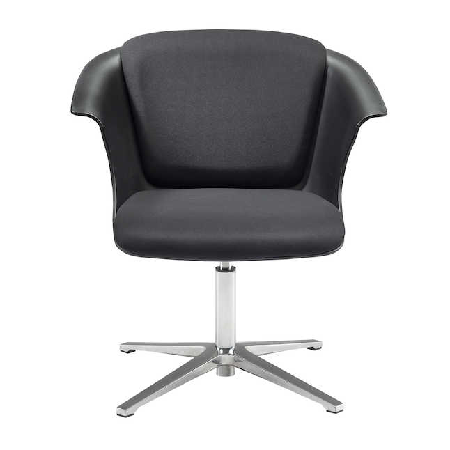 safco cosy social chair with fixed base
