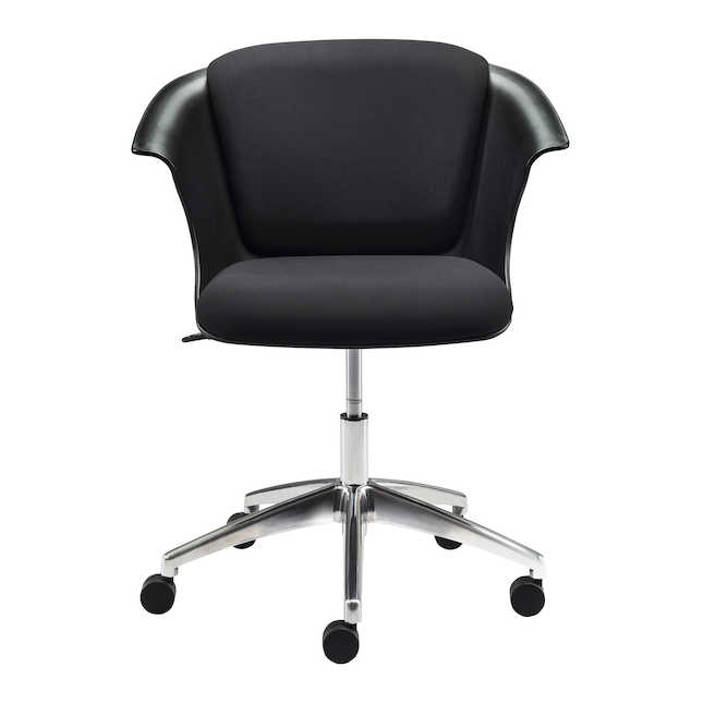 safco cosy chair with 5 star base