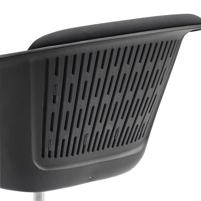 safco cosy chair plastic shell back