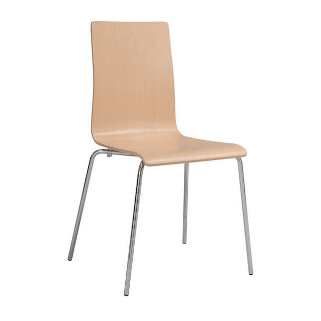 safco bosk chair in beech