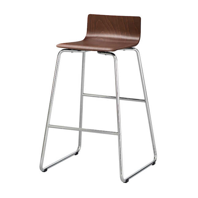 safco bosk stool in cherry