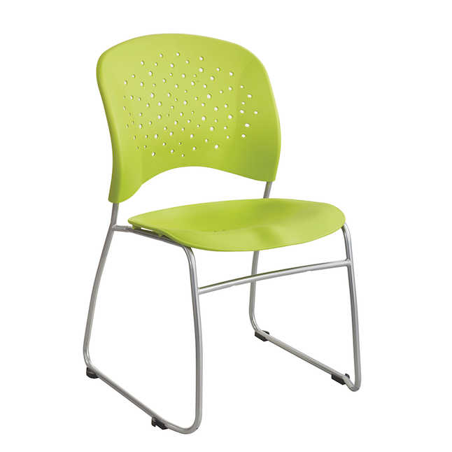 safco reve guest chair in green