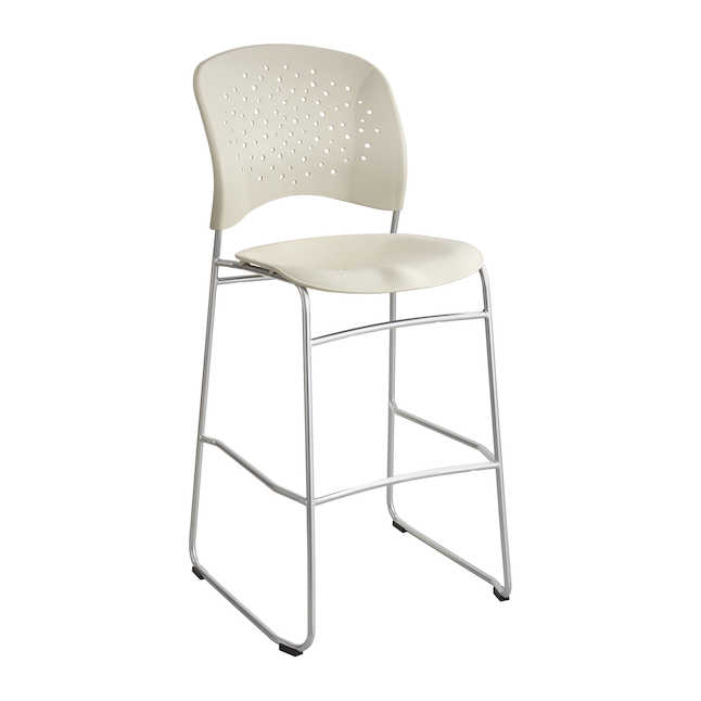 6806bl reve bistro height chair by safco