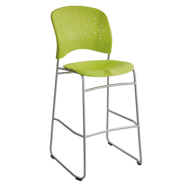 reve bistro height chair in green