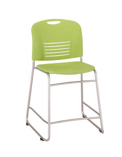 safco vy counter height chair in green