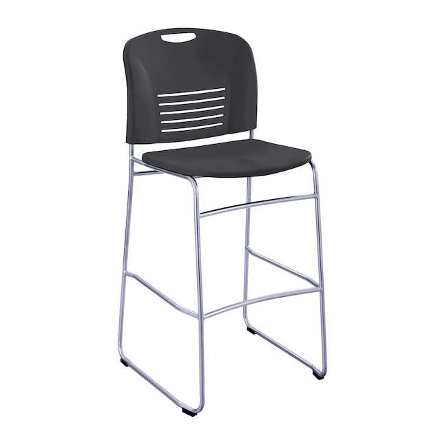 safco vy bistro height chair 4295 in black