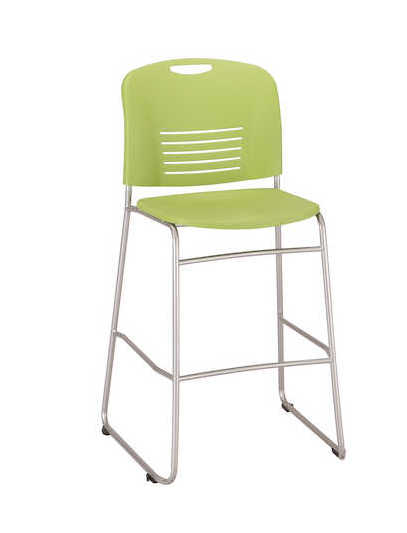 safco vy bistro height chair 4295 in green