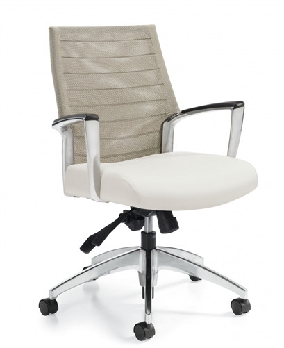 Global Accord Medium Back Mesh Chair 2677LM-4