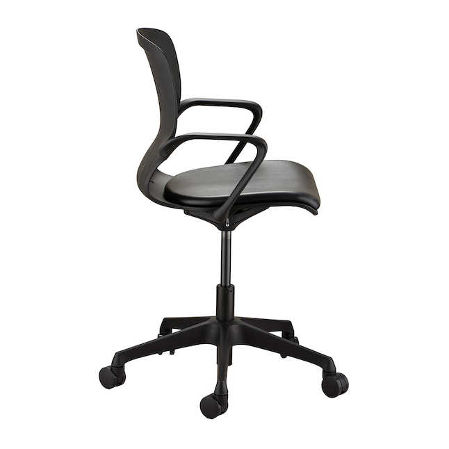 safco shell desk chair profile