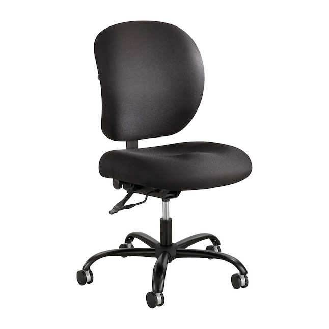 safco alday armless 24/7 big and tall office chair
