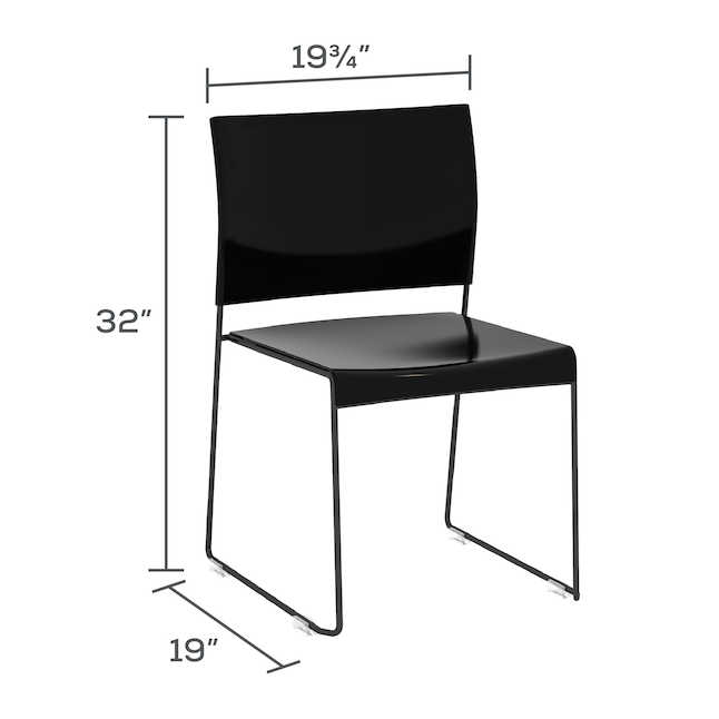 safco currant chair dimensions