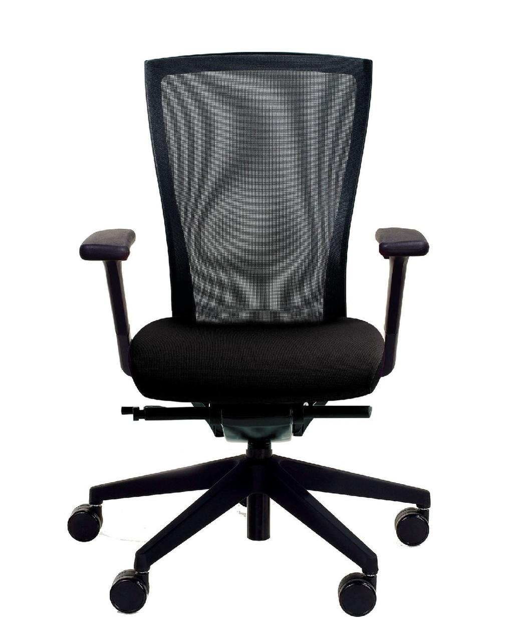 ki altus black mesh chair
