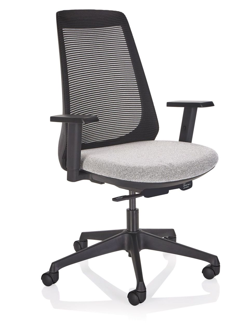 ki oath mesh back task chair with arms