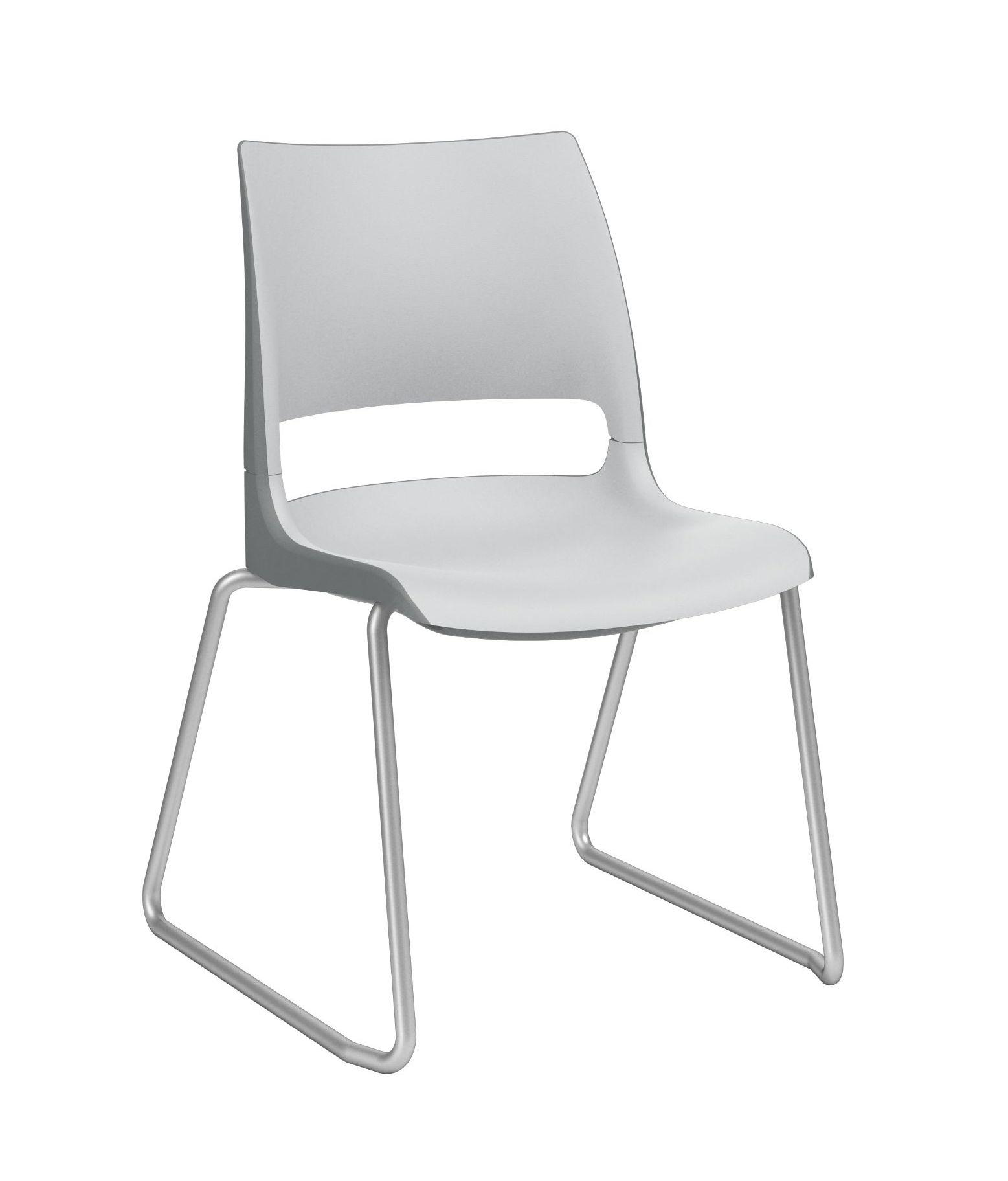 ki doni sled base stack chair dn3100