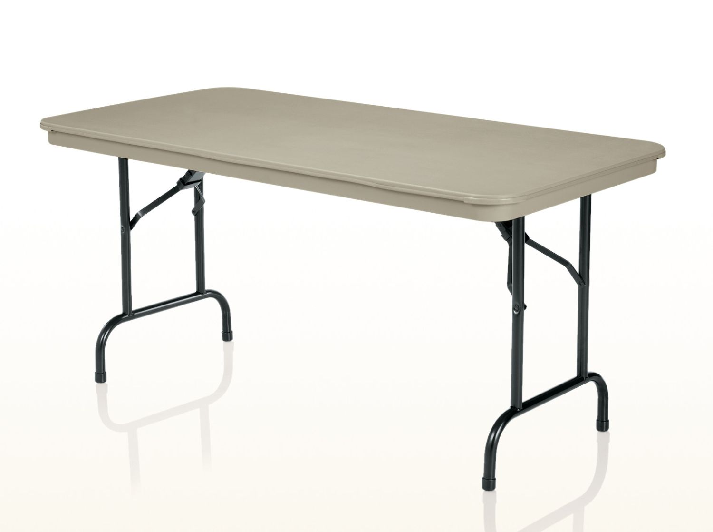 duralite rectangular folding table