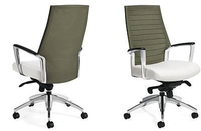 Global Accord Mesh Back Office Chair 2676-4 (10 Mesh Colors Available!)
