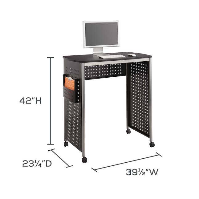 Stand Up Desk >> Safco Scoot Stand Up Desk 1908bl