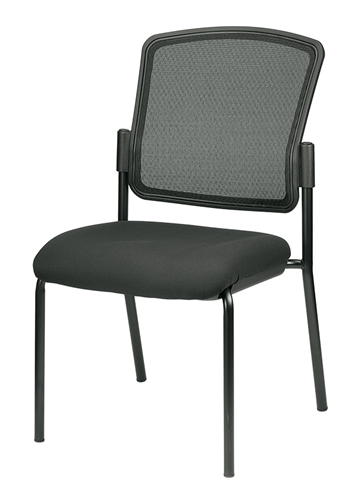 Eurotech Seating Dakota 2 Armless Mesh Back Side Chair 7014