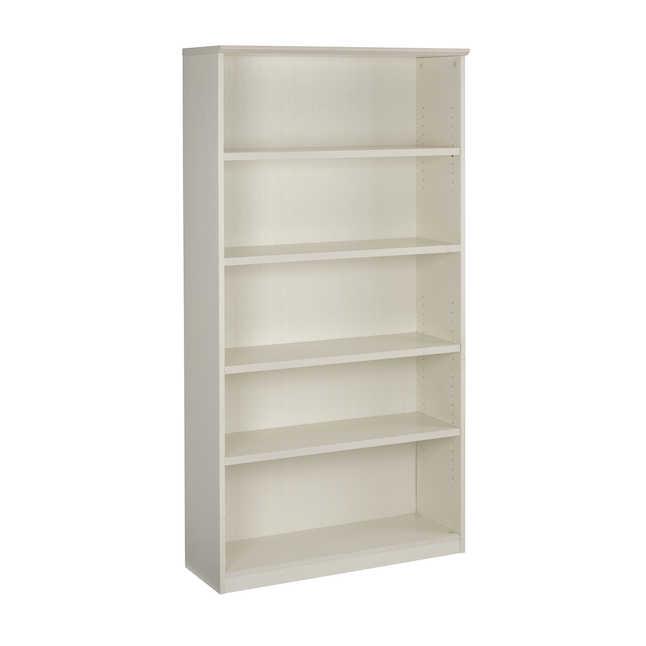 medina 5 shelf bookcase in sea salt