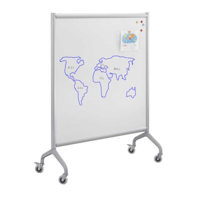 safco rumba 42 x 54 mobile whiteboard