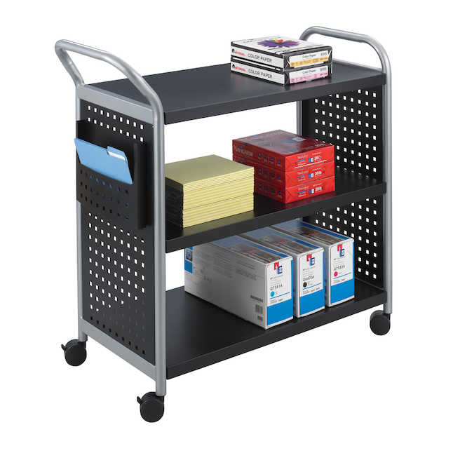 scoot utility cart with contents