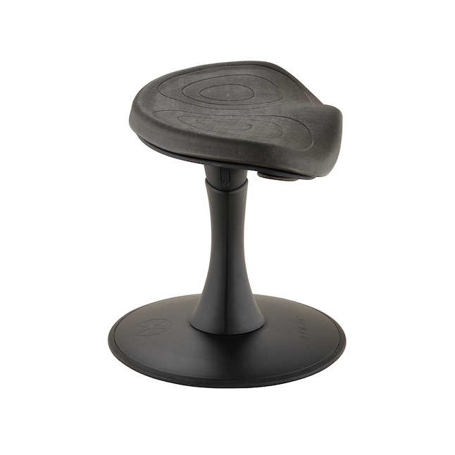 "safco fidget 14"" active stool - side view"