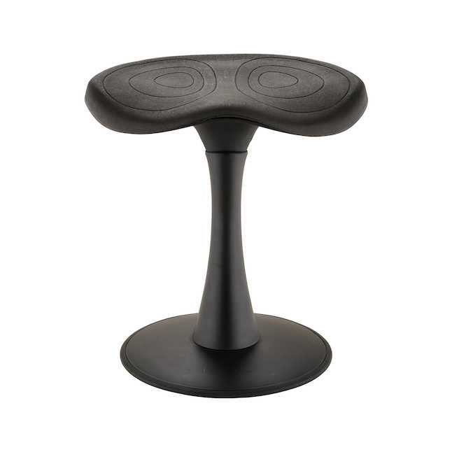 """18"""" safco fidget active stool - front view"""
