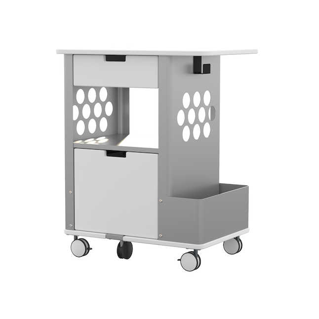 safco rolling storage cart model 5202wh