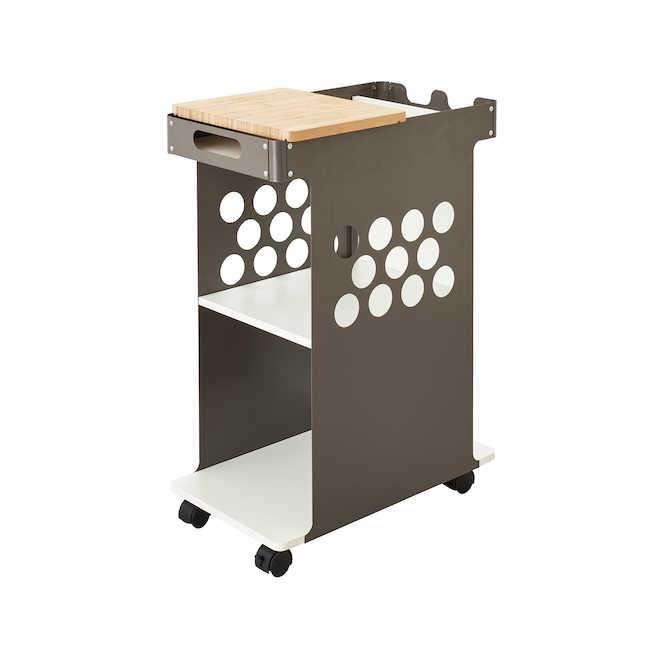 safco mini rolling storage cart