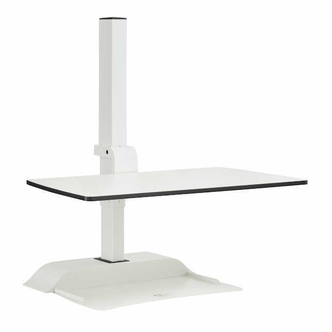 safco soar electric sit-stand workstation