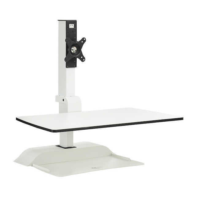 5192wh safco soar sit to stand workstation