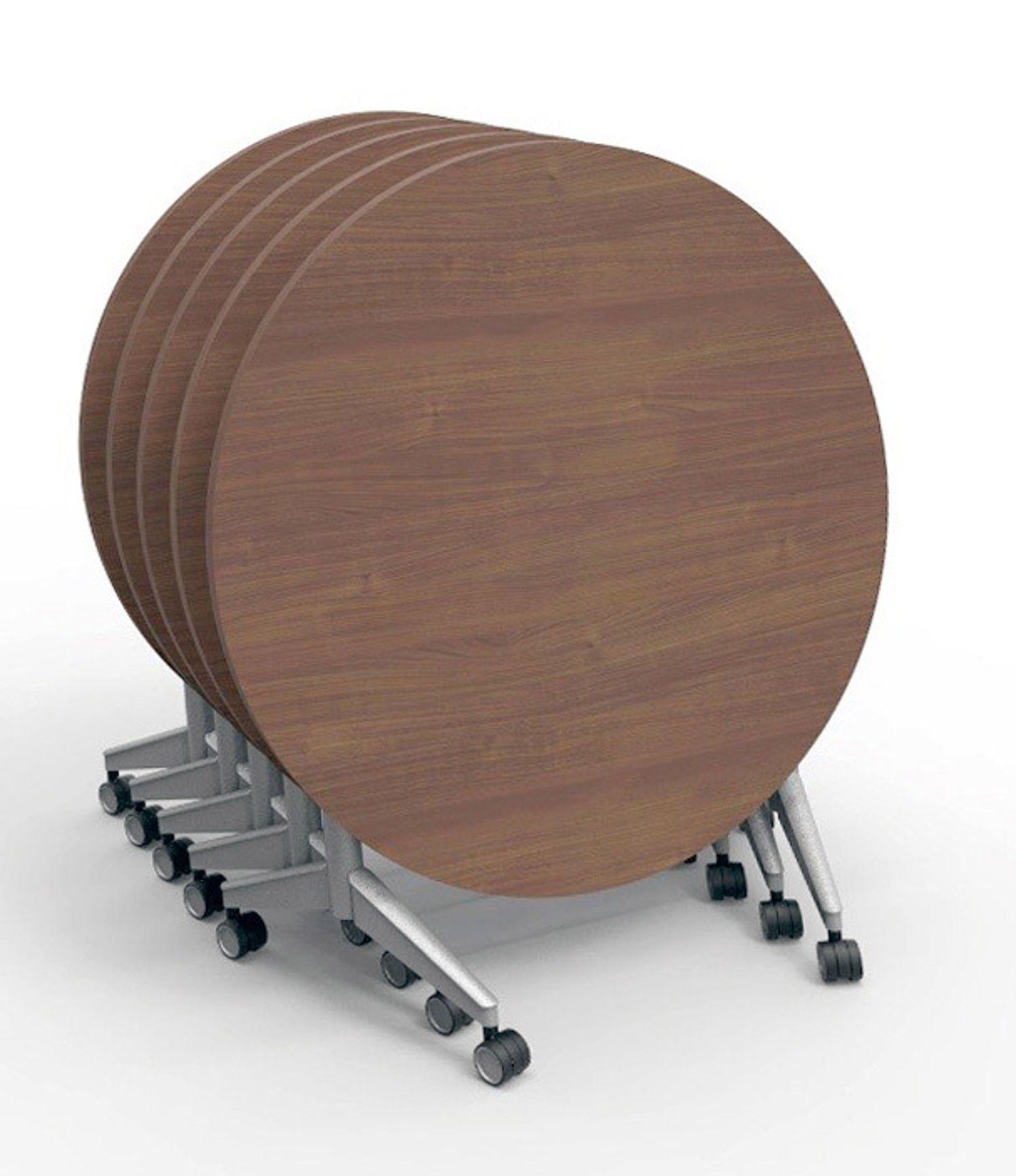 ki pirouette round nesting tables