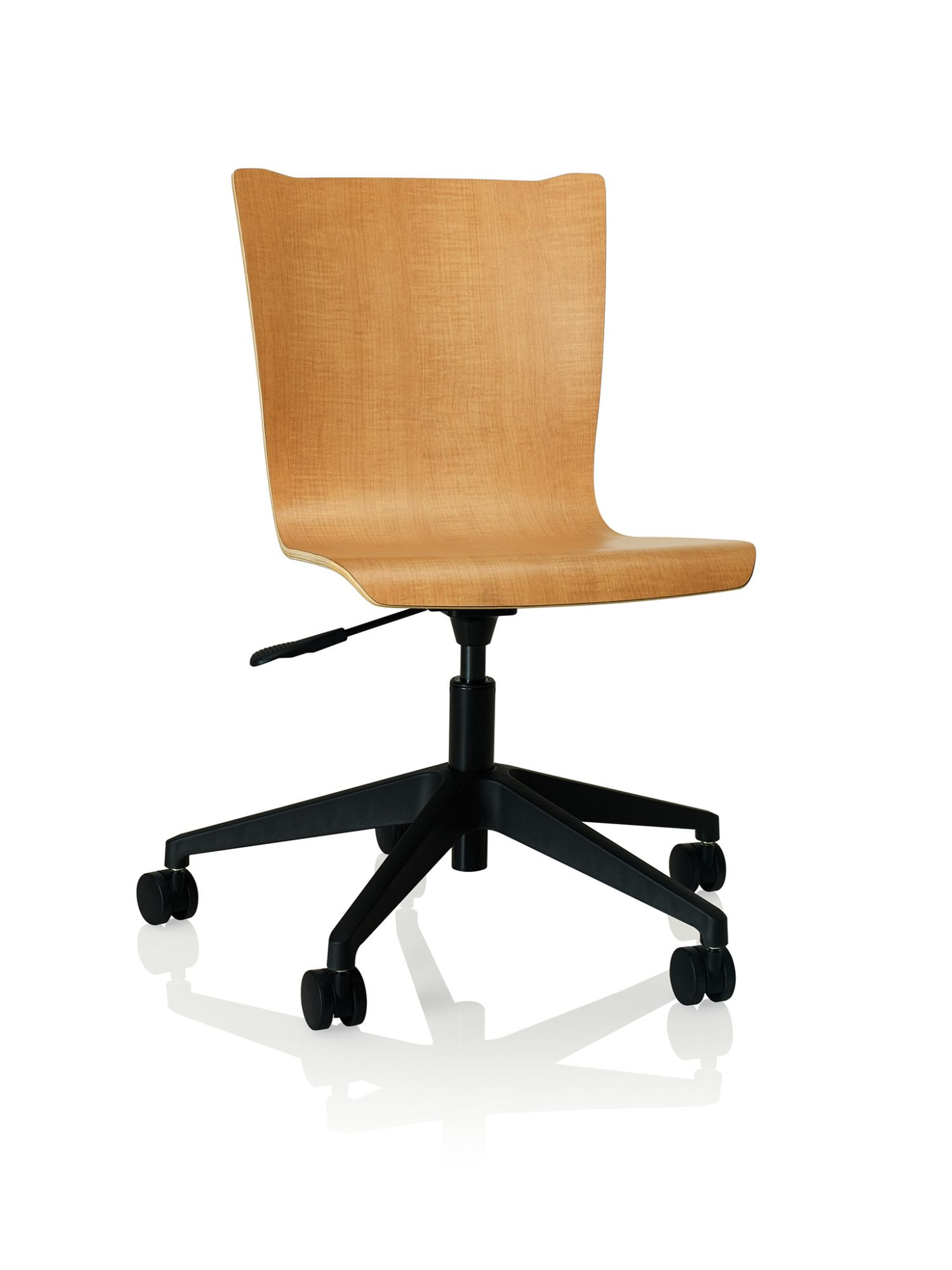 monticello maple apply laminate task chair