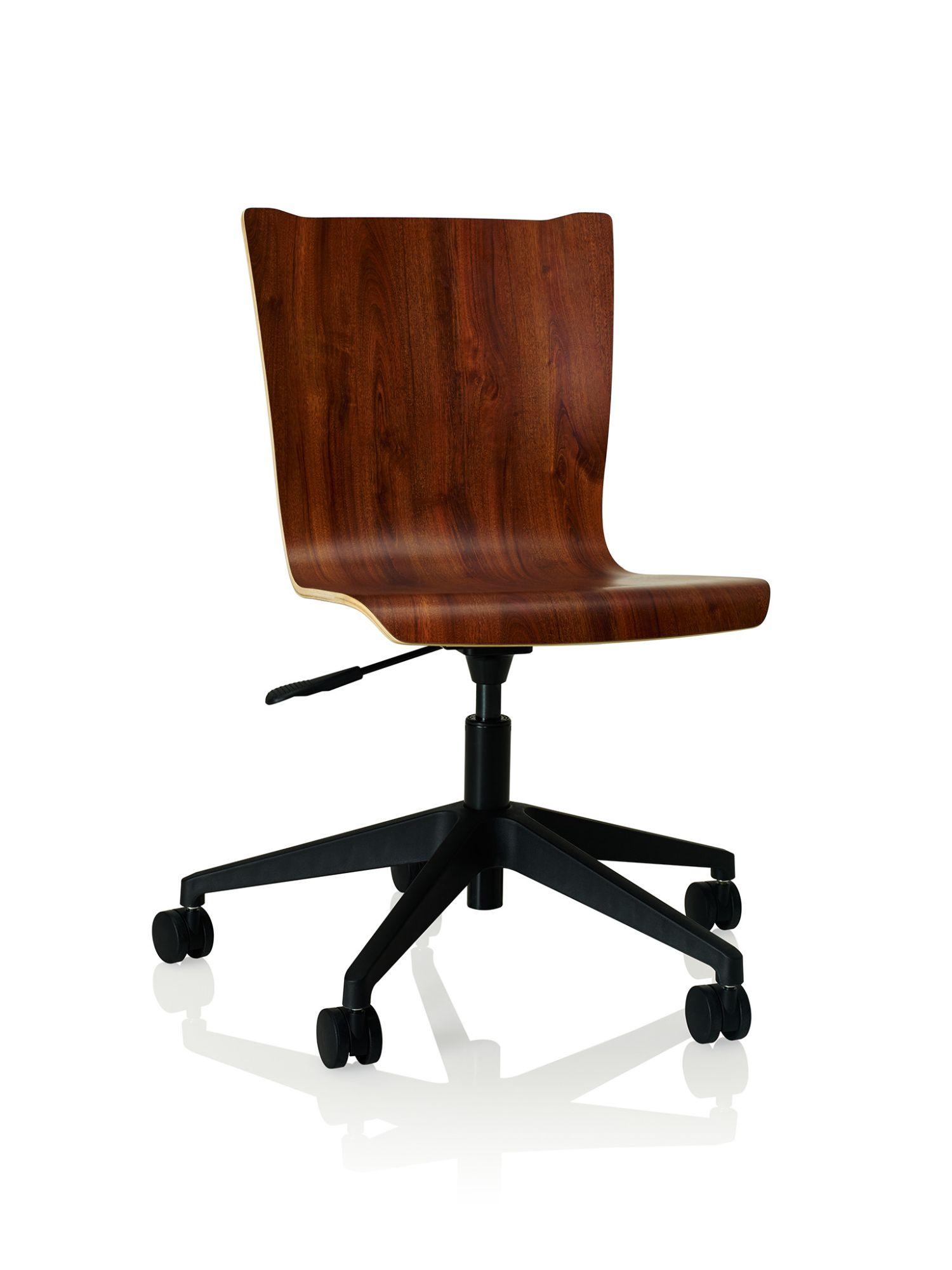 windsor mahogany apply laminate task chair