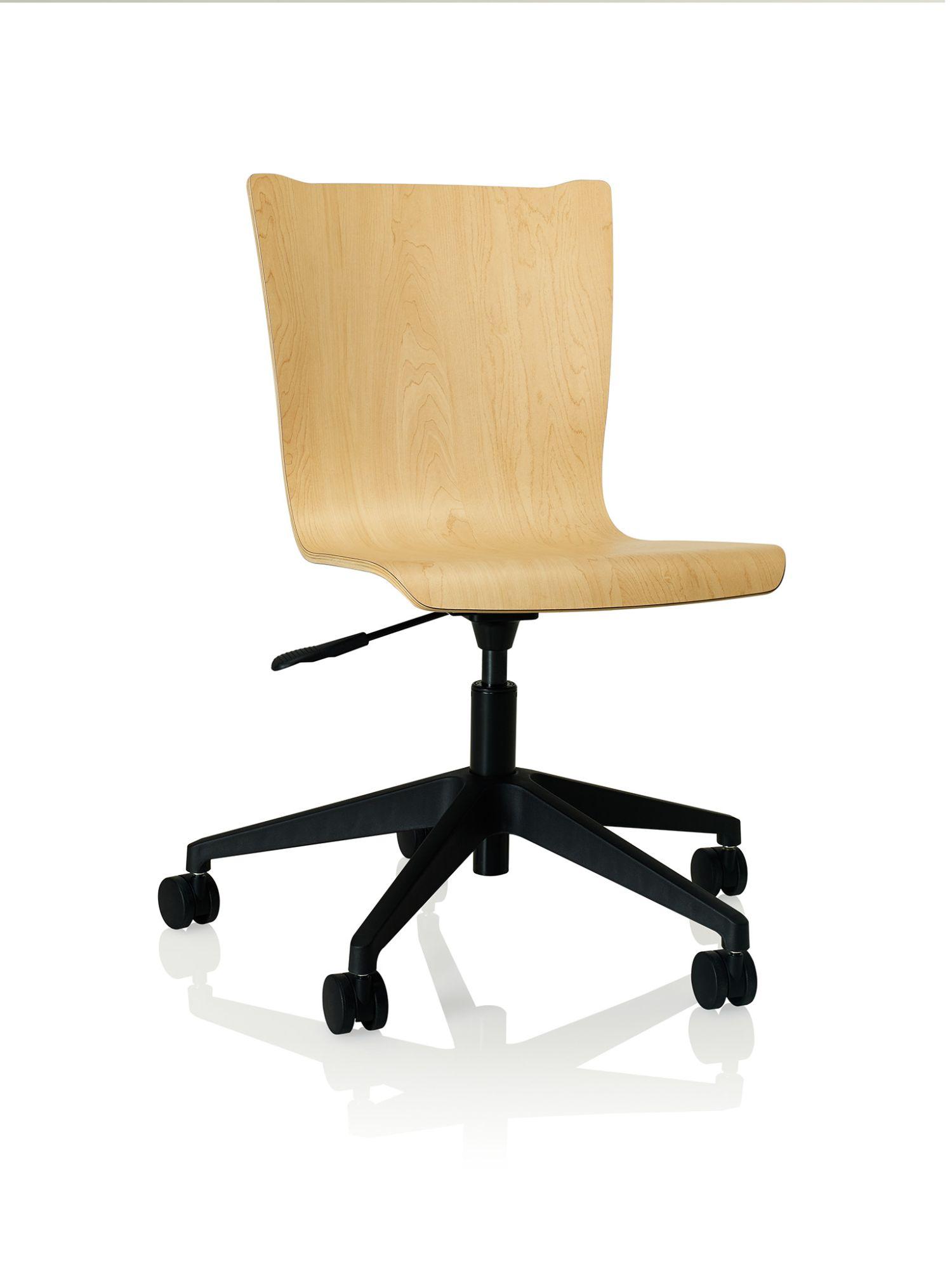 kensington maple apply laminate task chair