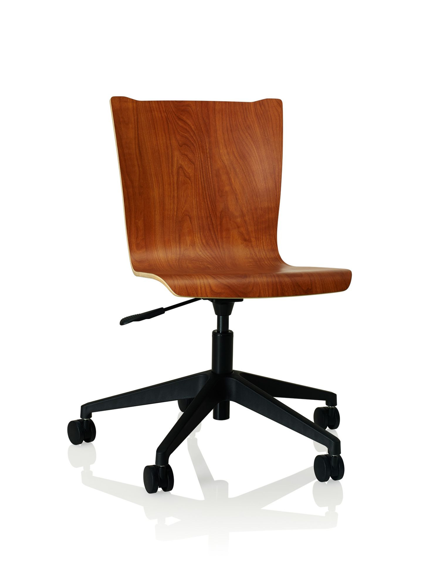 cherry storm apply laminate task chair