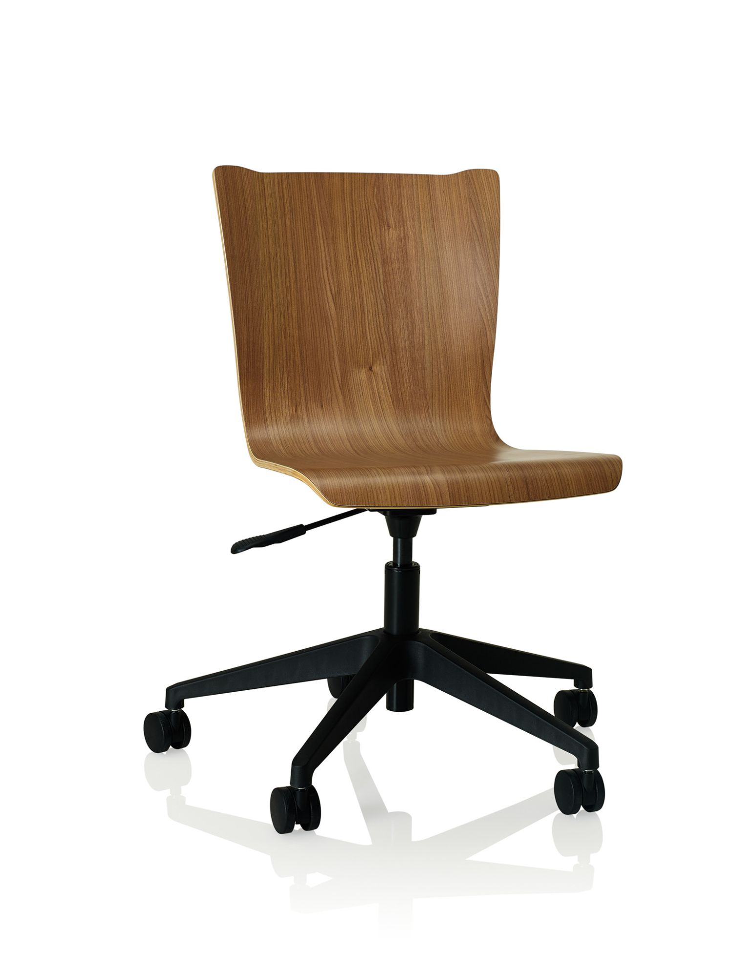 river cherry apply laminate task chair