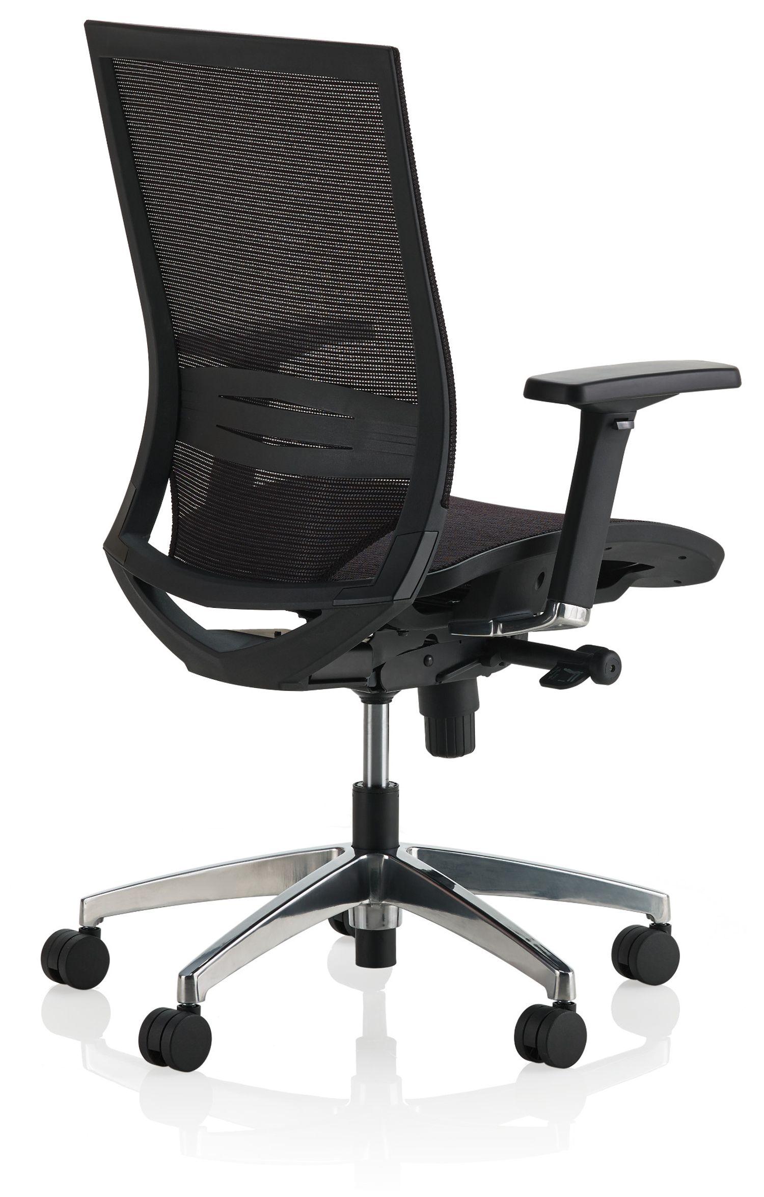 ki sift mesh back task chair back view