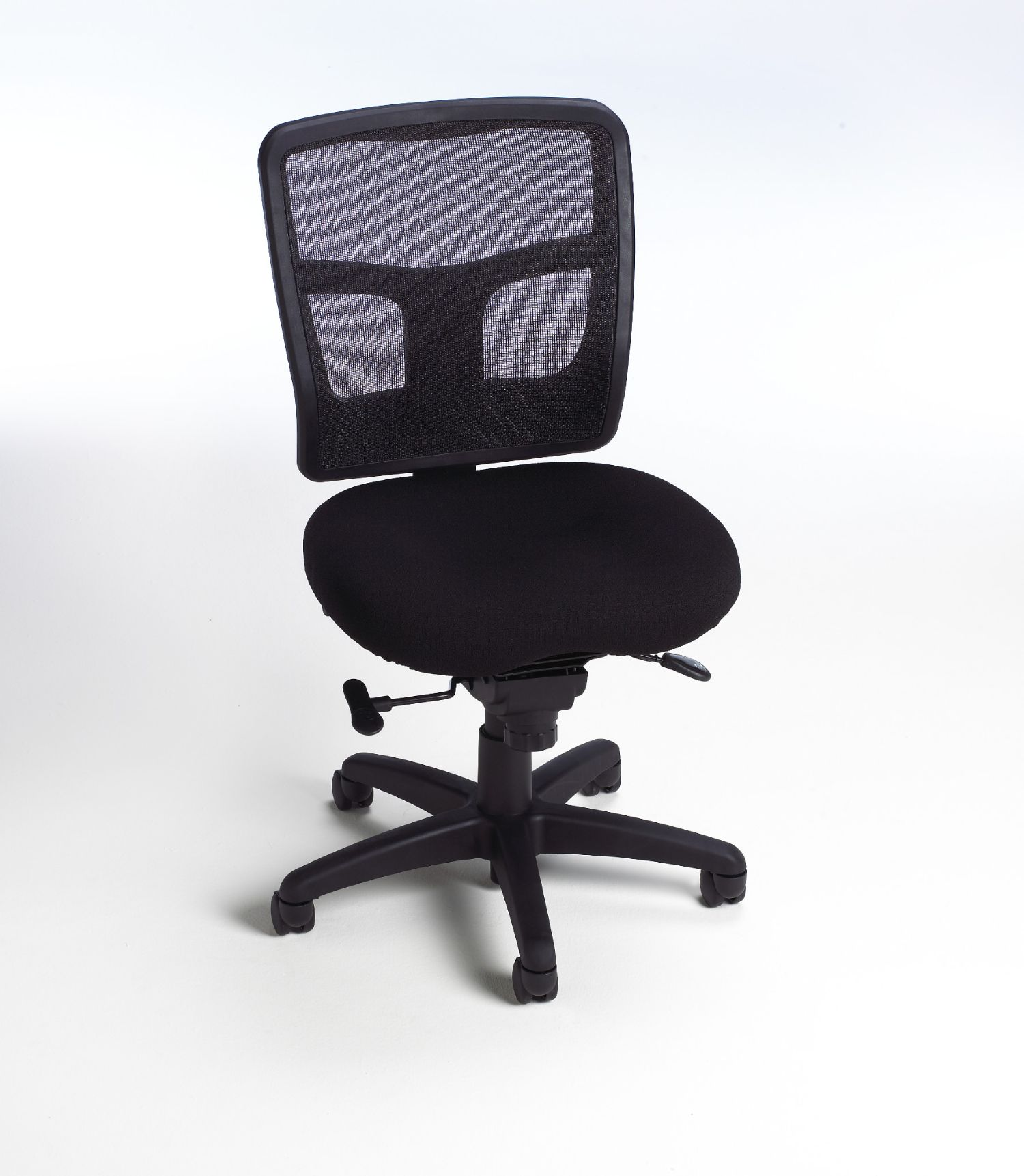 impress ultra armless mid back task chair