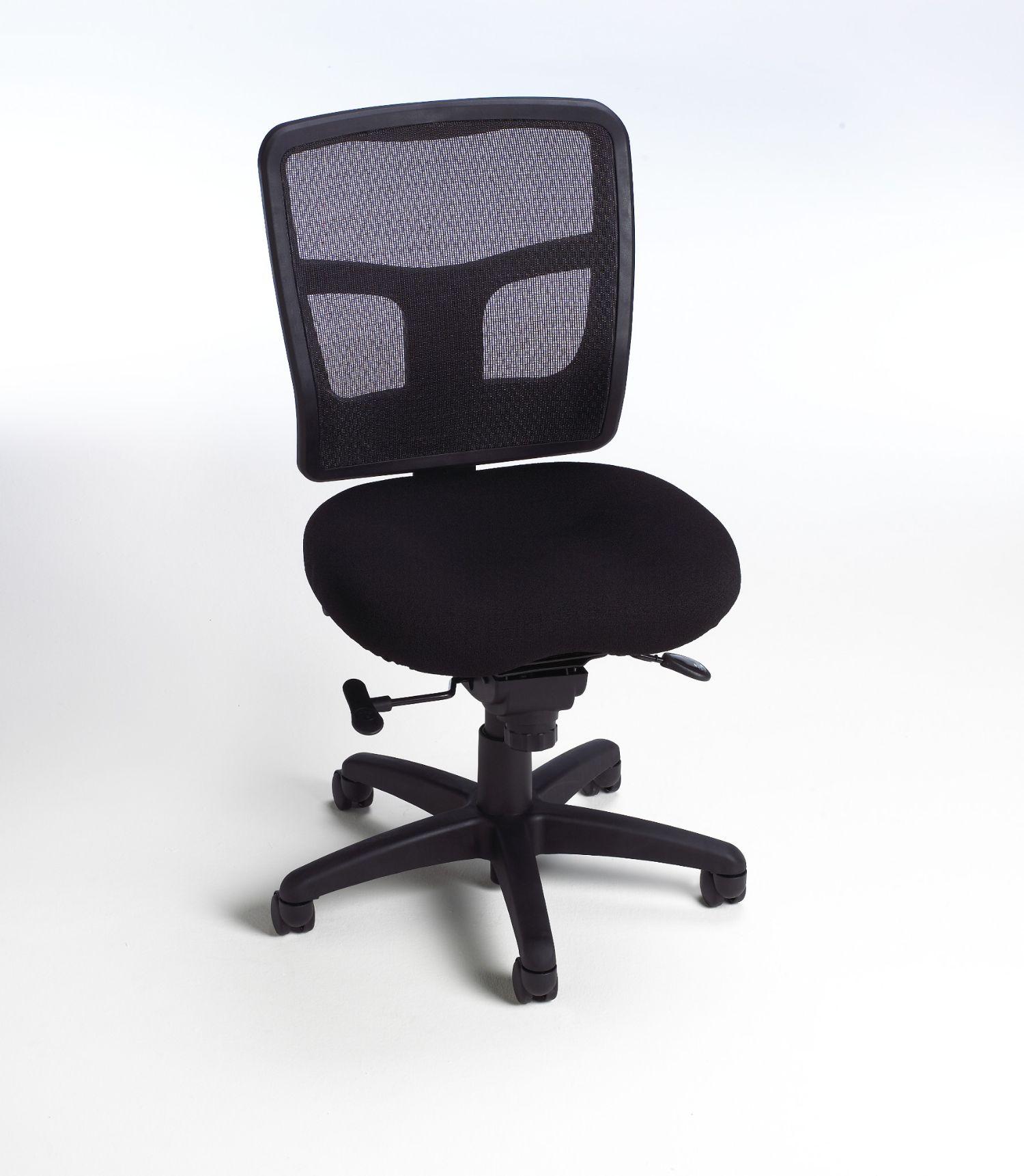 impress ultra armless mid back task chair