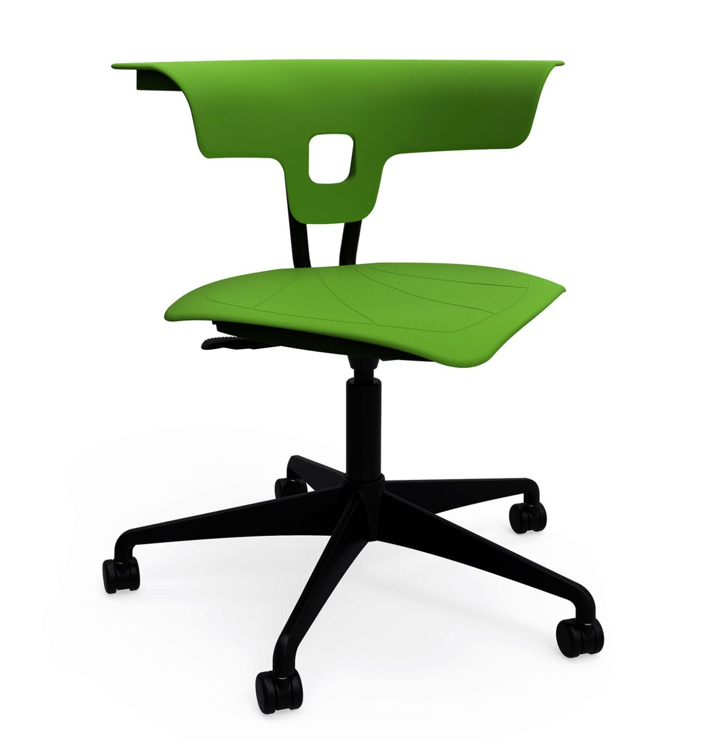 ki ruckus polypropylene task chair