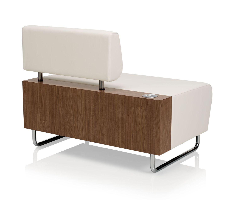 ki hub modular lounge chair back view