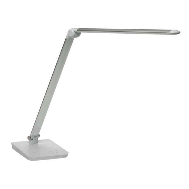 silver vamp desk lamp