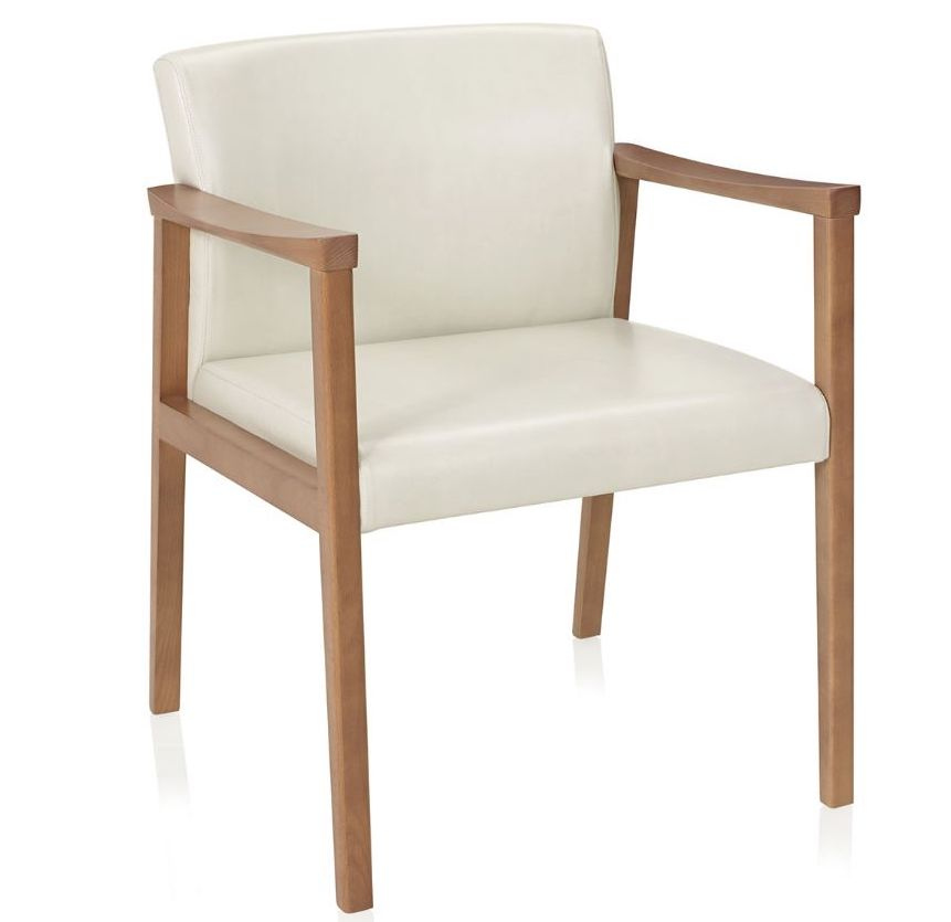 affina open arm guest chair