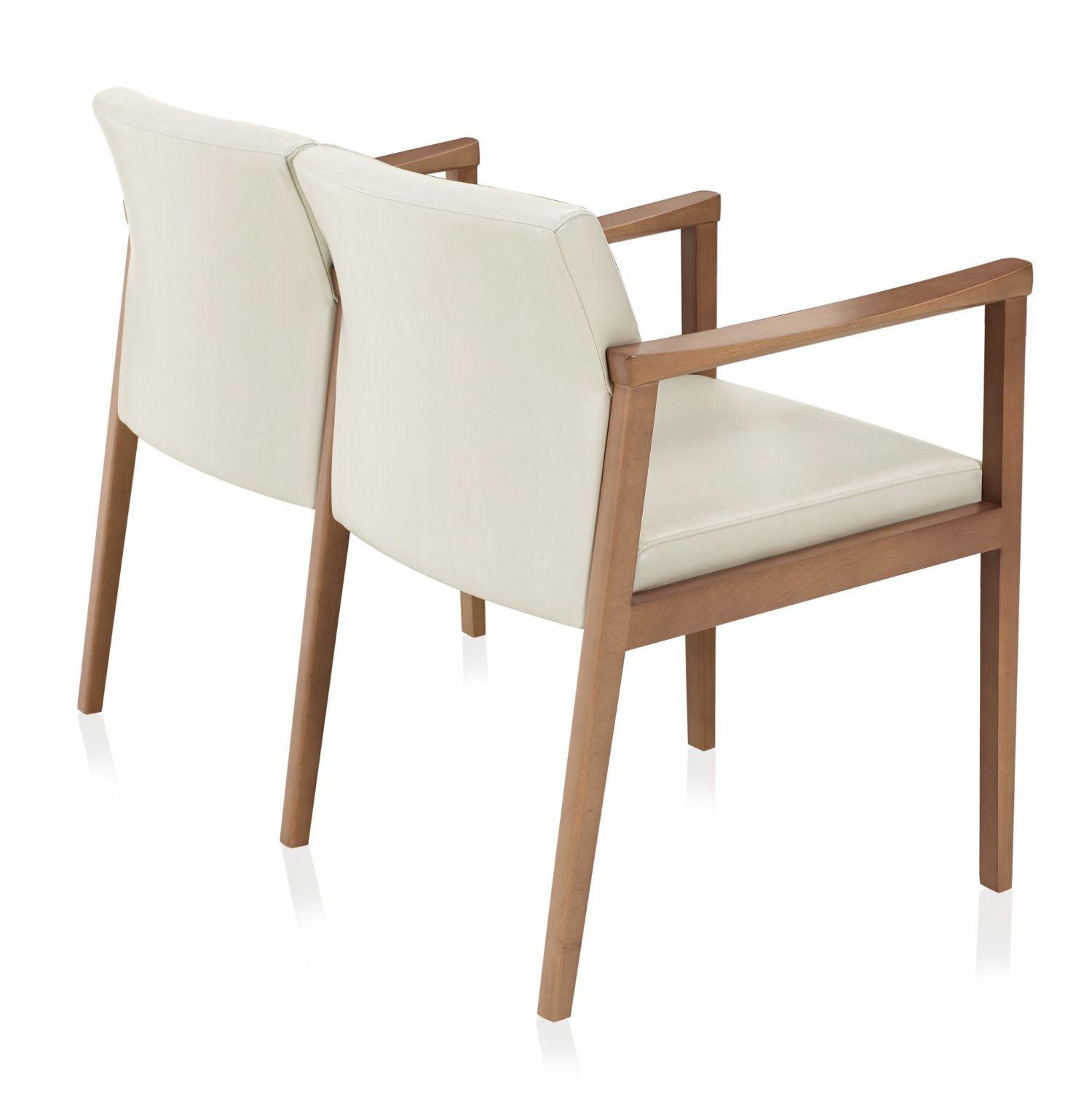 ki affina wood and leather seating