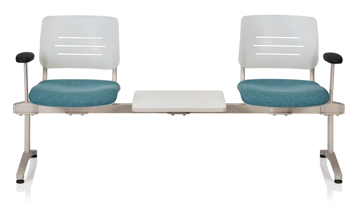 ki grazie 2 person beam chair with table